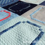 Racetrack Quilt - Quilting Detail