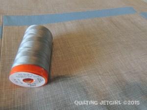 Racetrack Quilt - Aurifil 2610