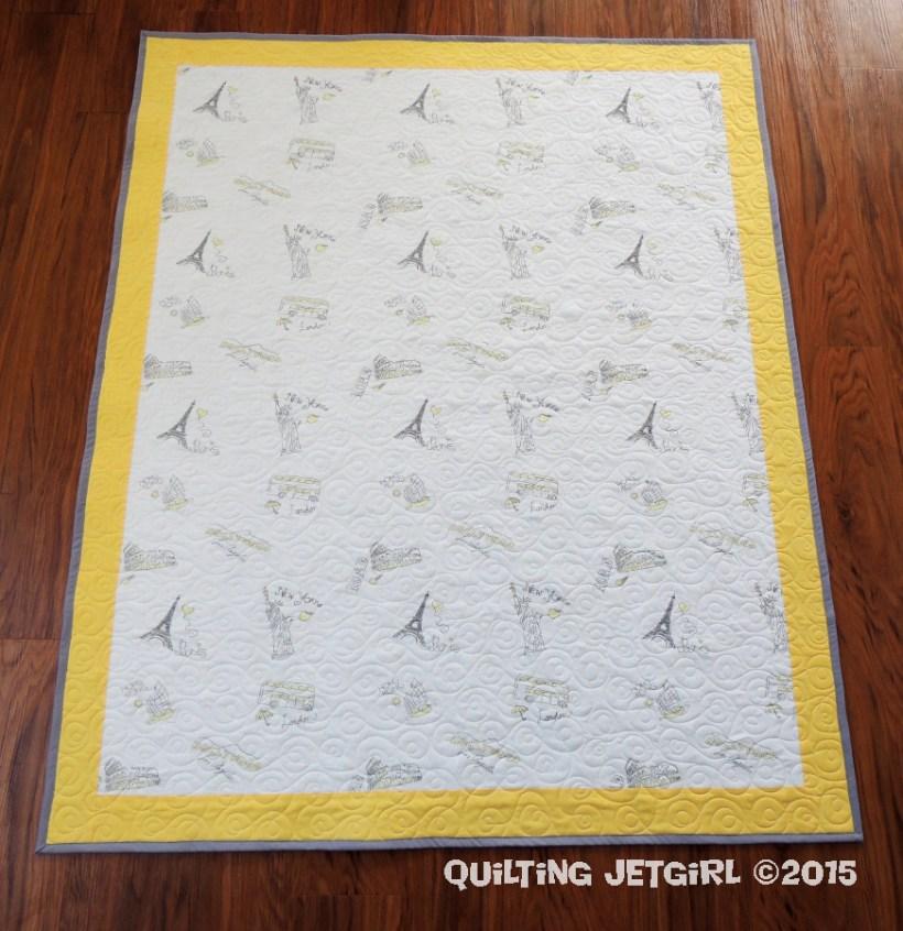 Baby Sheet Quilt (1)
