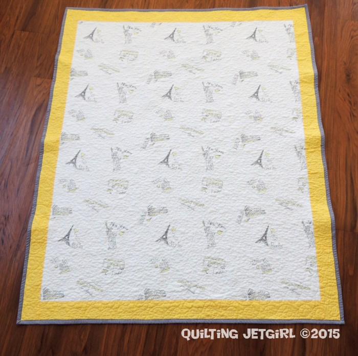 Baby Sheet Quilt (7)