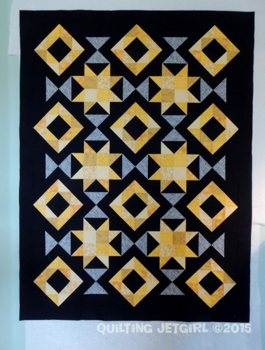 Foothills Mystery Quilt - Flimsy Finish