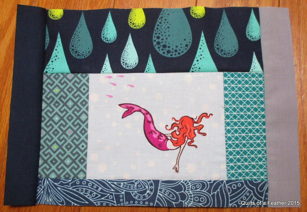 Sea Themed Quilt Block