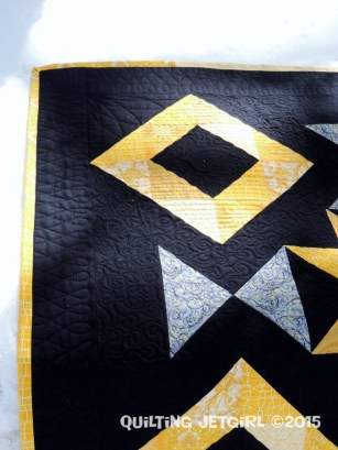 Foothills Mystery Quilt - Quilting DetailFoothills Mystery Quilt - Quilting Detail