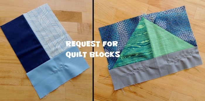 Request for Quilt Blocks