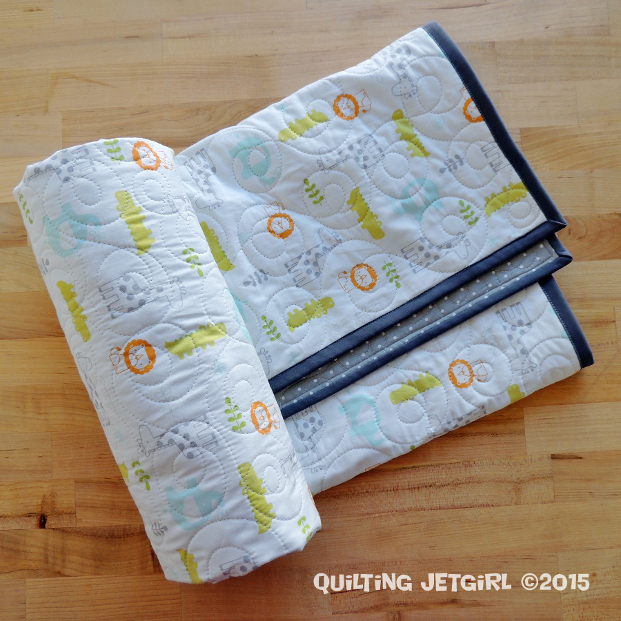 Fitted Crib Sheet Quilt: Take Two – Quilting Jetgirl : quilted crib sheet - Adamdwight.com