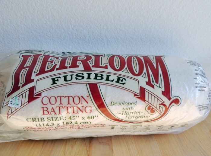 Fusible Cotton Batting