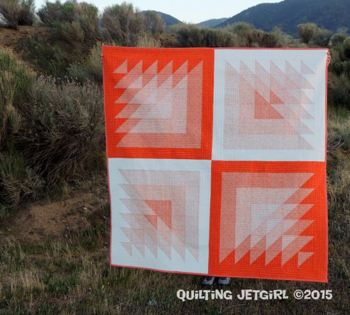 Triangle Transparency (Orange)