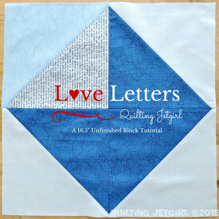 Love Letters Block Tutorial