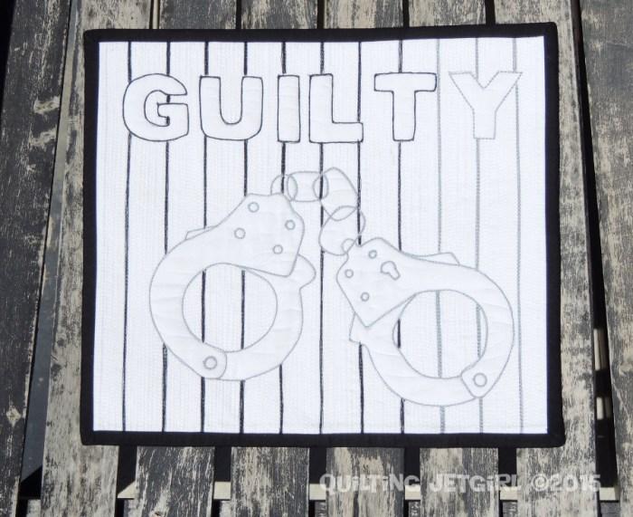 Guilty Mini Quilt