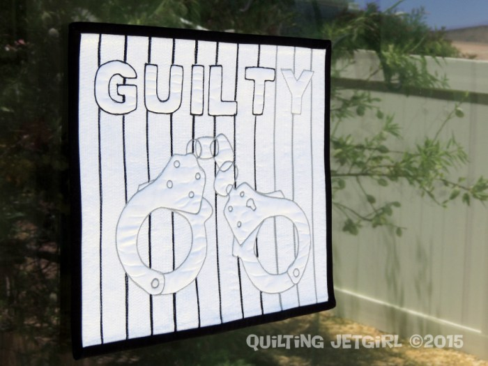 Guilty Mini Quilt