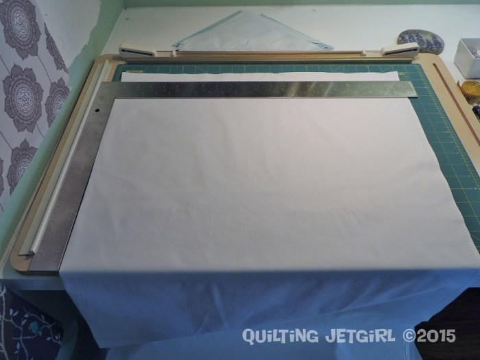 Handling Large Yardage - Cutting Station