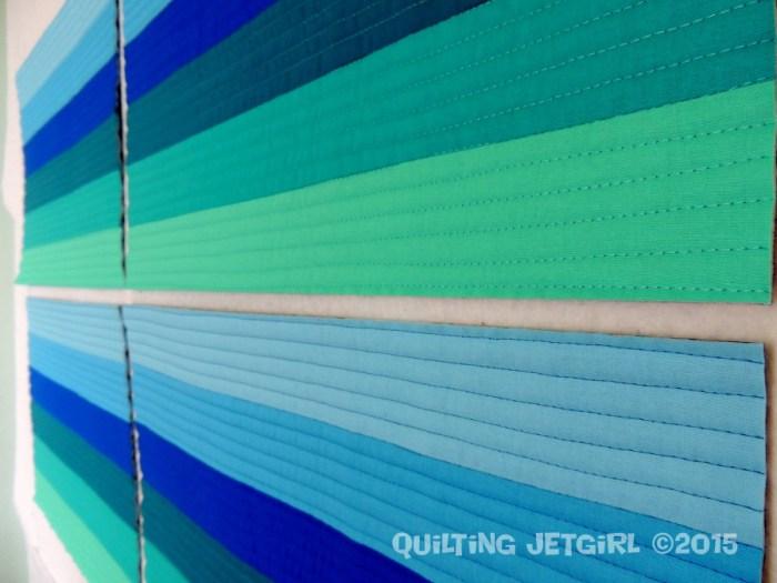 Lake Tahoe Placemats - Quilting