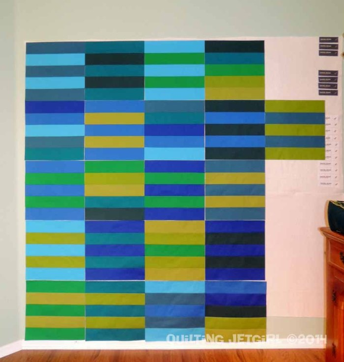 Myer Quilt - Stripe Blocks