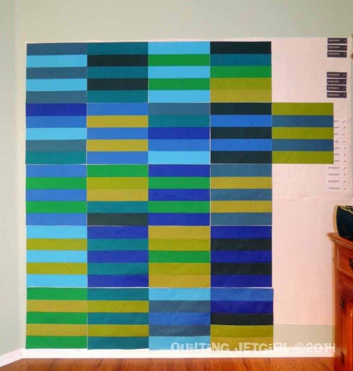 Myer Quilt - Stripe Blocks
