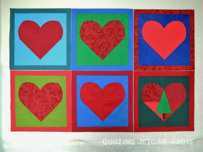 Myer Quilt - Heart Blocks