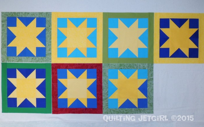 Myer Quilt - Sun Blocks