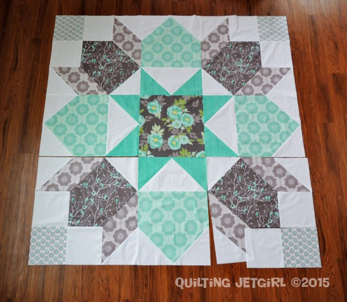 Giant Swoon Block - MQG Riley Blake Fabric Challenge