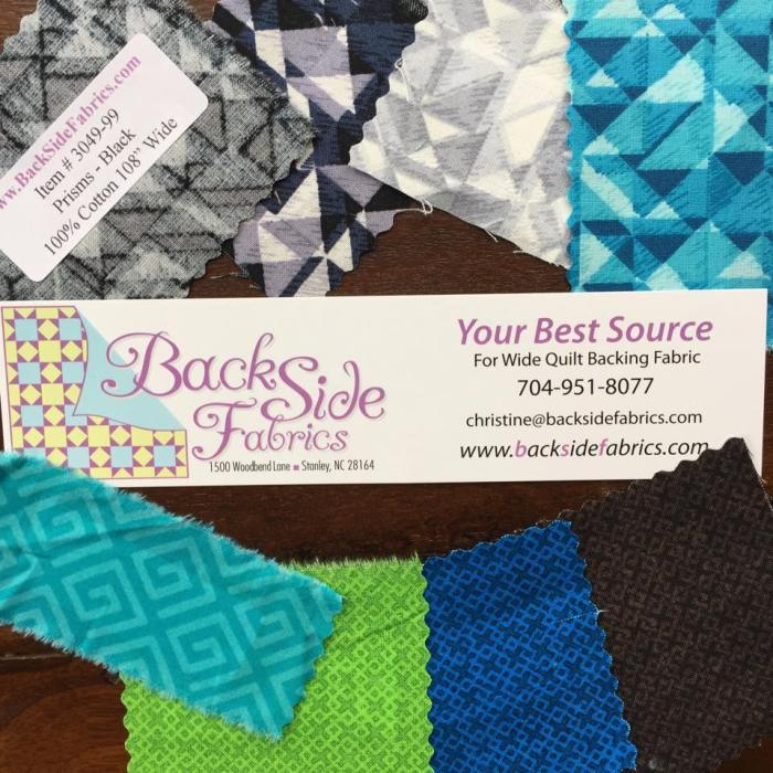 BackSide Fabrics Swatches