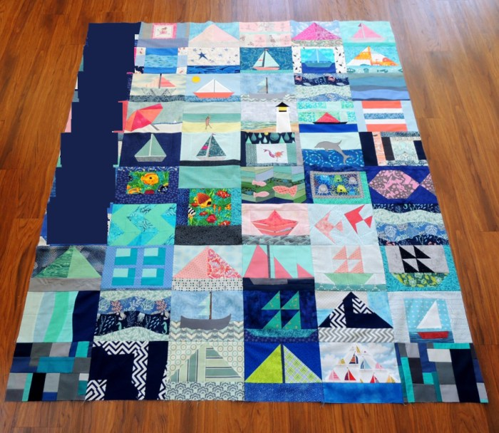Miss A Pieced Quilt Top