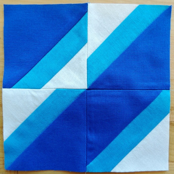 Notched Block (6.5-inches square unfinished)