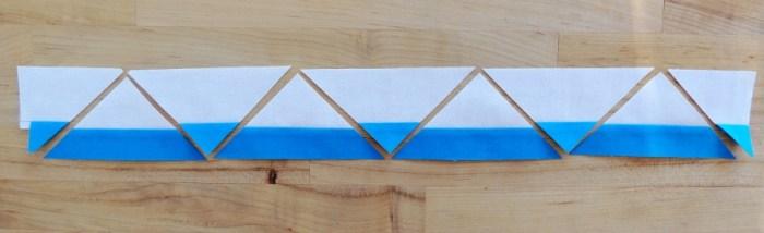 Piecing Step 2 - Cut Strip
