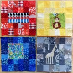 September Stash Bee Blocks