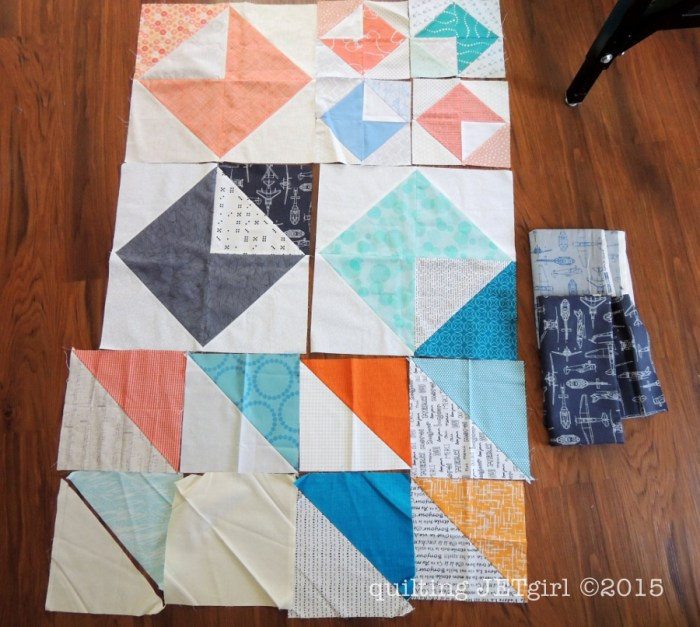 Love Letters Quilt - Pieced Backing Supplies