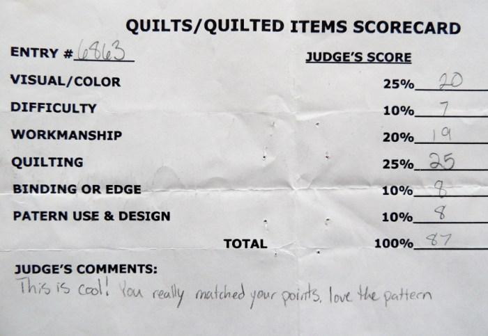 Lucent Judging Card