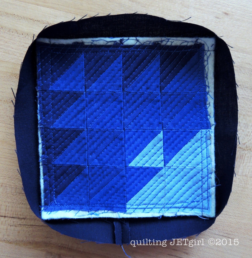 Binding Mini Mini Quilts