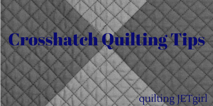 Crosshatch Quilting Tips