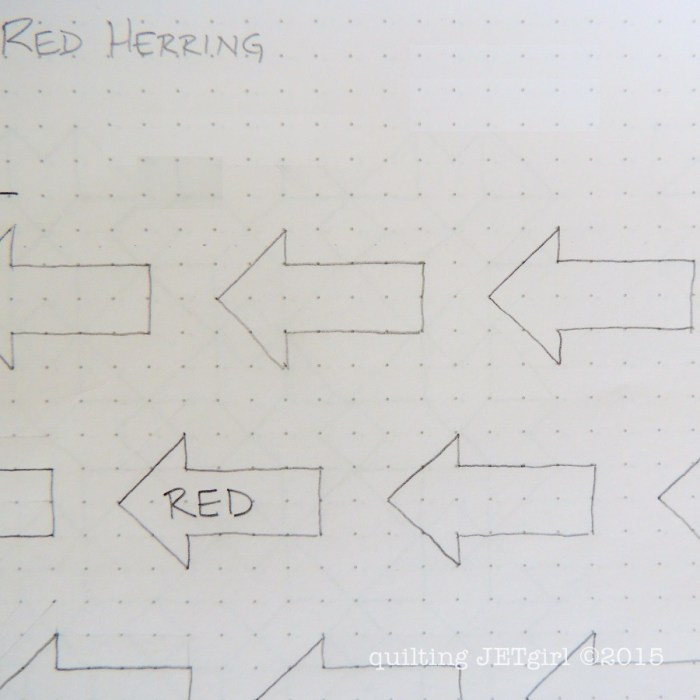 Red Herring - Vacation Design Sketch