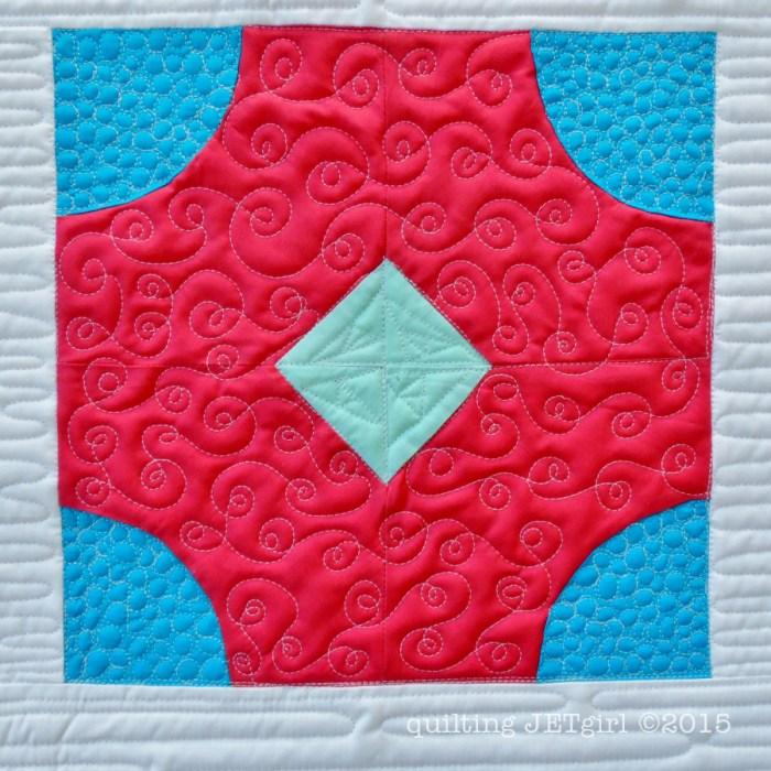 Block by Deanna @Stitches Quilting