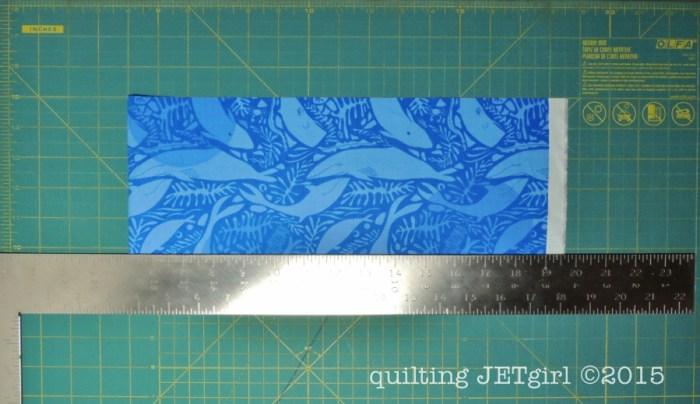 Cutting Hexies: Step 2