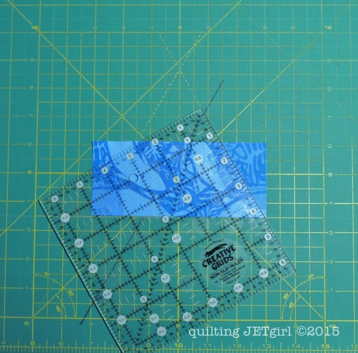 Cutting Hexies: Step 7