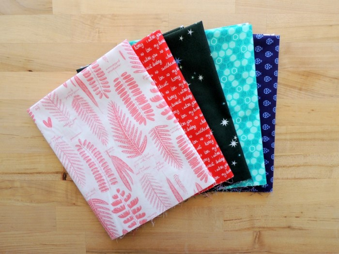 Gotham Quilts - Fabric Selections