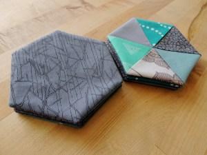 Hexie Coasters for Renee