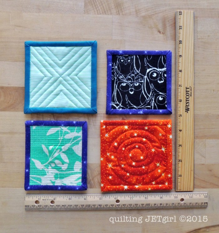 Mini Mini Quilts - Backs