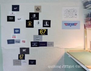 Missing Man TShirt Quilt: Pocket Art Formations
