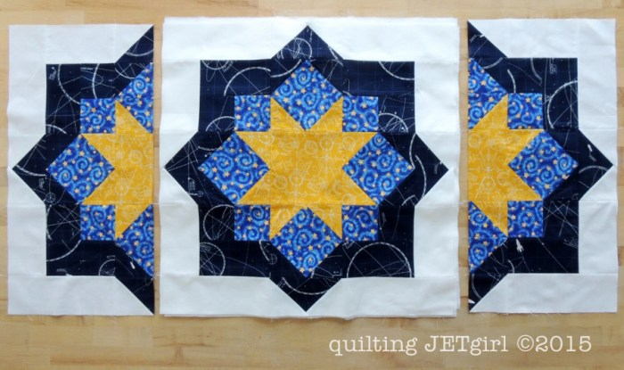 Midnight Mystery Quilt - Block Assembly Part 2