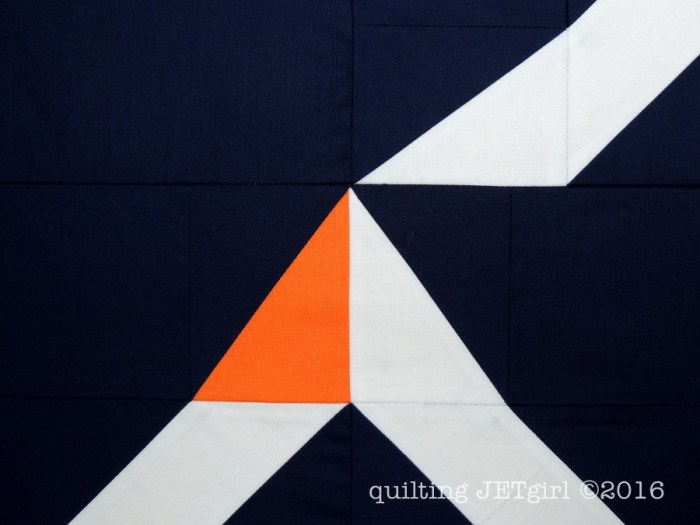 Beacon Quilt - Piecing Detail