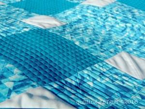 Pool Tile Mini Quilt