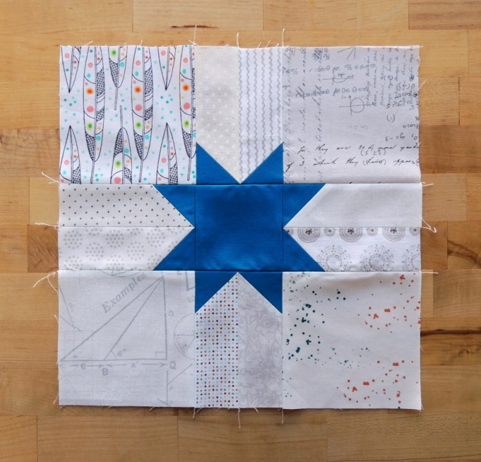 February Hive 4 Block for Ruth