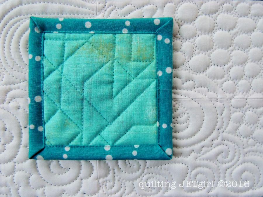 """4"""" Square Mini Mini Quilt"""