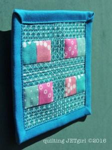 North / South Mini Mini Quilt