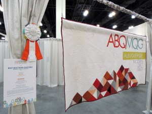 Renee @Quilts of a Feathers's Beautiful Quilting