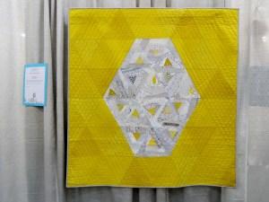 Tilting Toward Improv (citron) by Cindy Kaiser