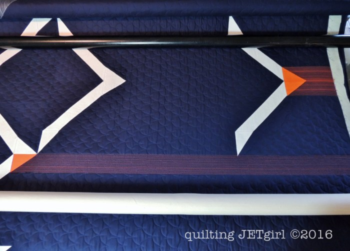 Beacon - Horizontal Quilting