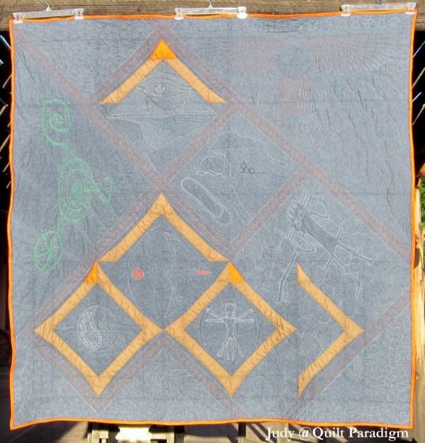 Judy @Quilt Paradigm - Lap Quilt Version of Beacon