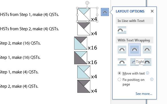 Image Layout Options