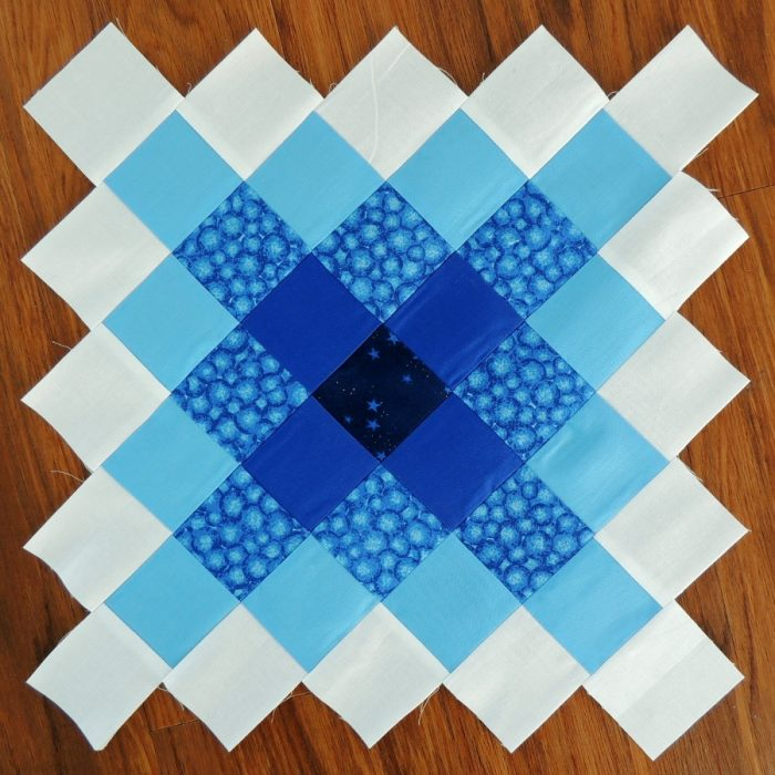 Granny Square May Stash Bee Block